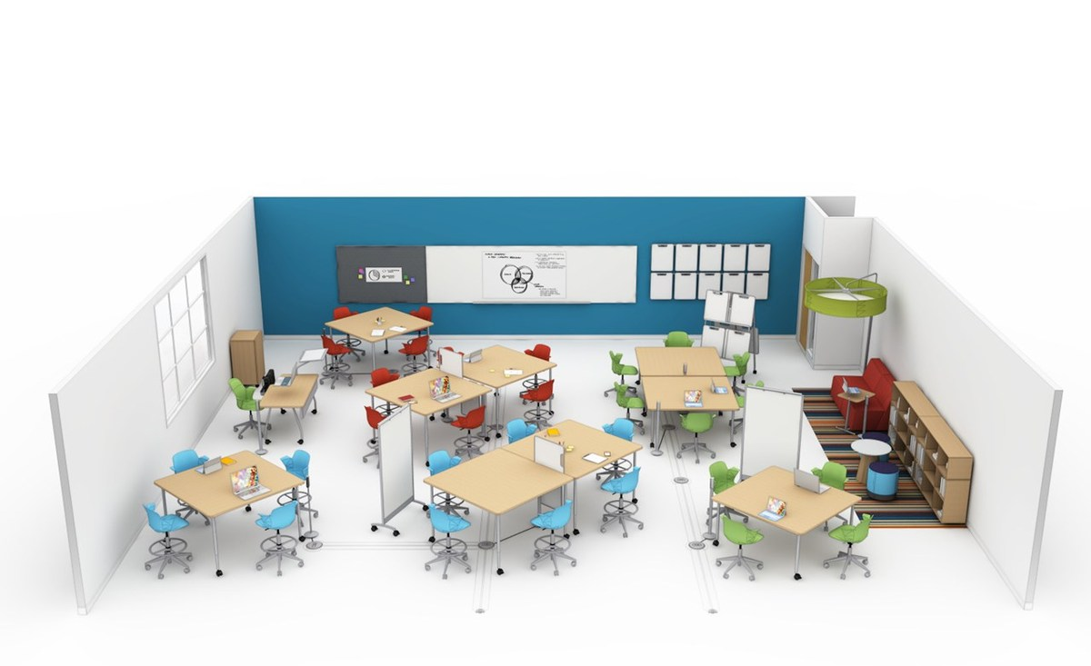 Baylor Awarded National Steelcase Education New Active Learning Classroom