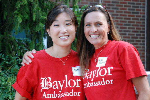 Baylor Ambassadors Host Coffee for New Day Parents