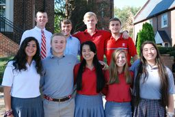 Nine Seniors Named Commended Students