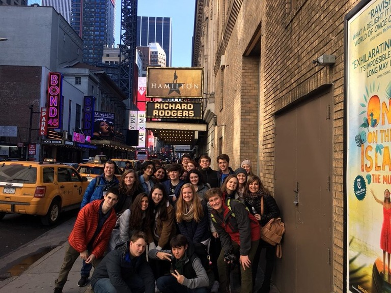 Drama Students Attend Broadway Workshops and Shows