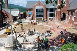Construction Update on Academic Center and The Quad