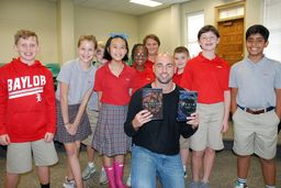 YA-Hoo Author Scott Reintgen Visits Baylor