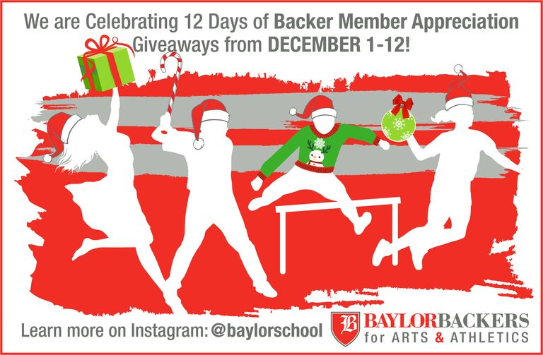 Twelve Days of Baylor Backers Appreciation