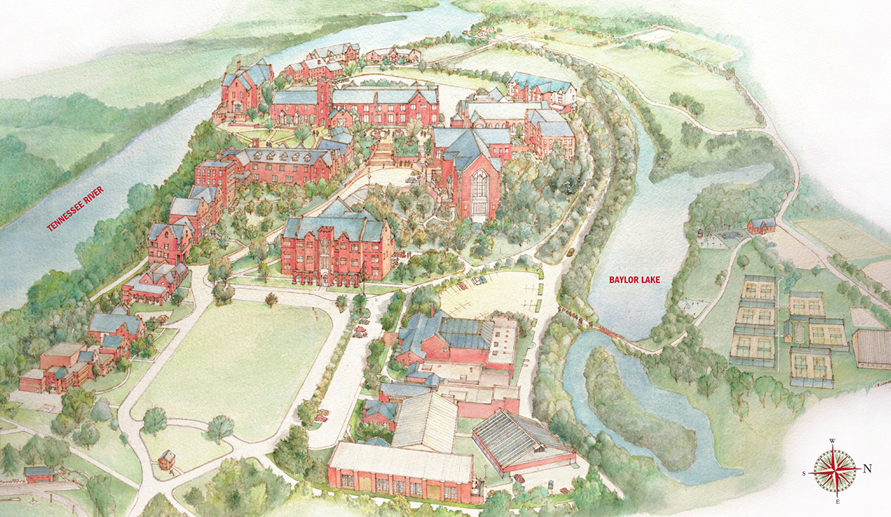 Mountain View College Campus Map.Campus Map Baylor School